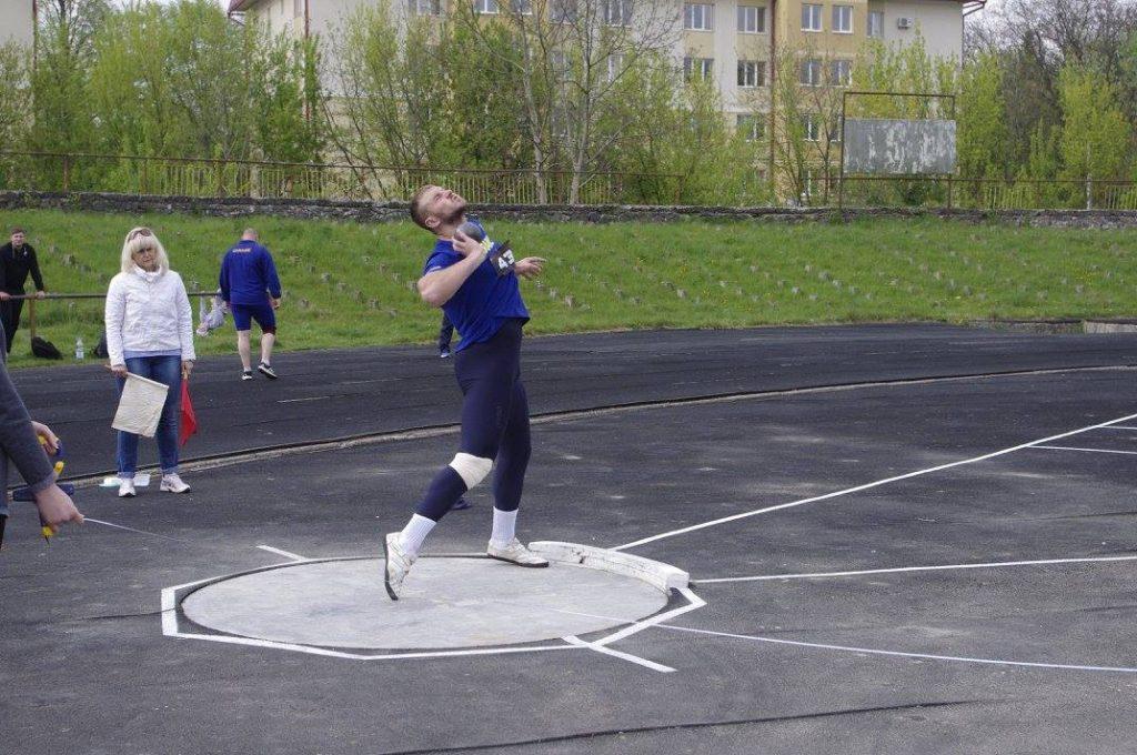 Роман Кокошко виконав норматив на майстра спорту України