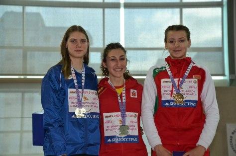 Олена Жмур друга на міжнародній матчевій зустрічі U20