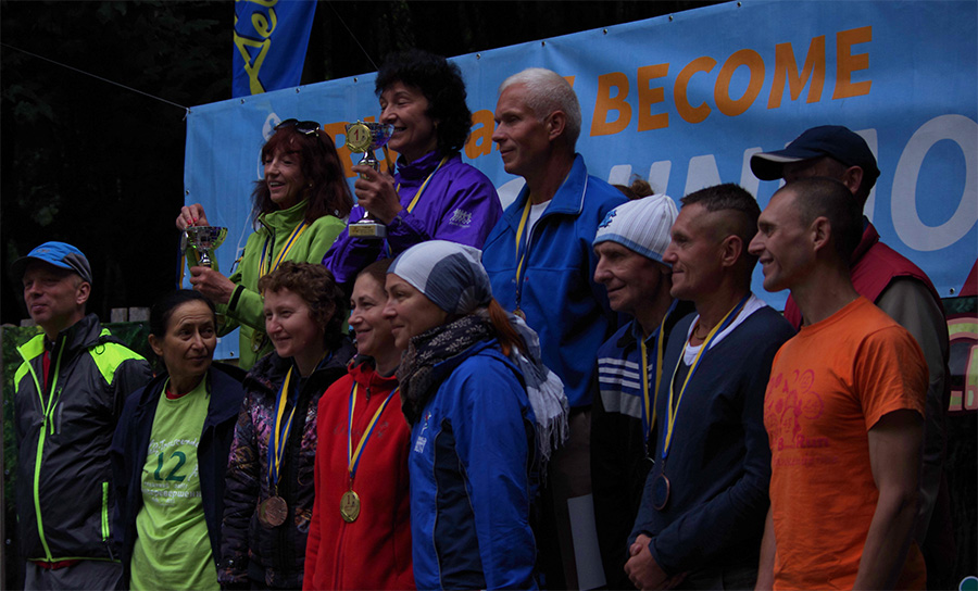 Визначились переможці десятого чемпіонату України з дводобового бігу та ультрамарафону «Самоперевершення»