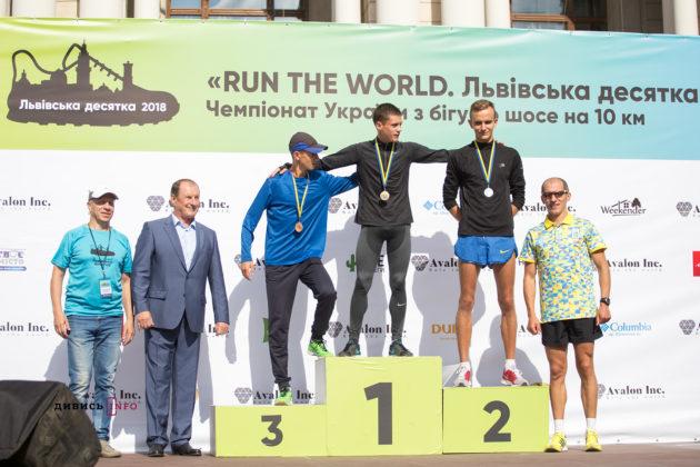 Андрій Краковецький чемпіон України з бігу на 10 км серед юніорів