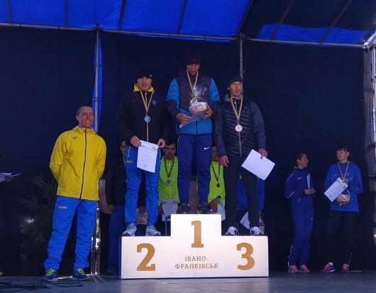 Олексій Казанін бронзовий призер чемпіонату України зі спортивної ходьби
