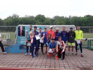 18 травня відбувся забіг присвячений пам'яті Петра Анісіма та всеукраїнські змагання ВФСТ Колос