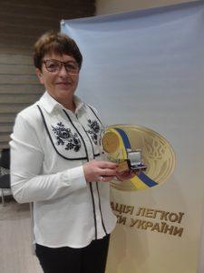 Бех Олені Володимирівні присвоєно звання Заслуженого працівника фізичної культури і спорту України