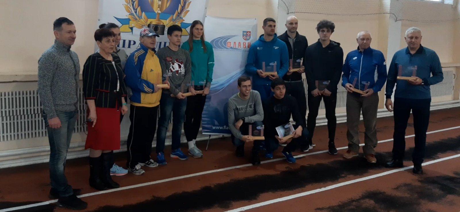Федерація легкої атлетики Вінницької області відзначила найкращих спортсменів та тренерів 2019 року