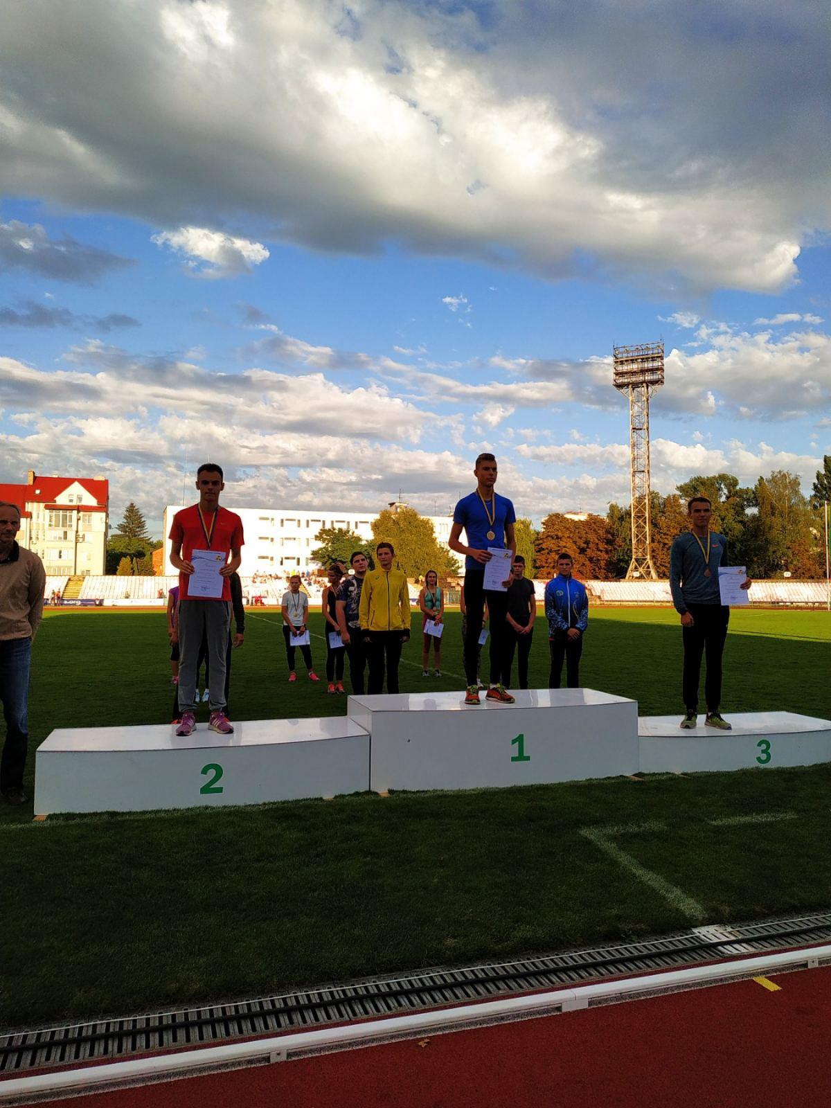 Вінничани успішно виступили на чемпіонаті України серед юнаків