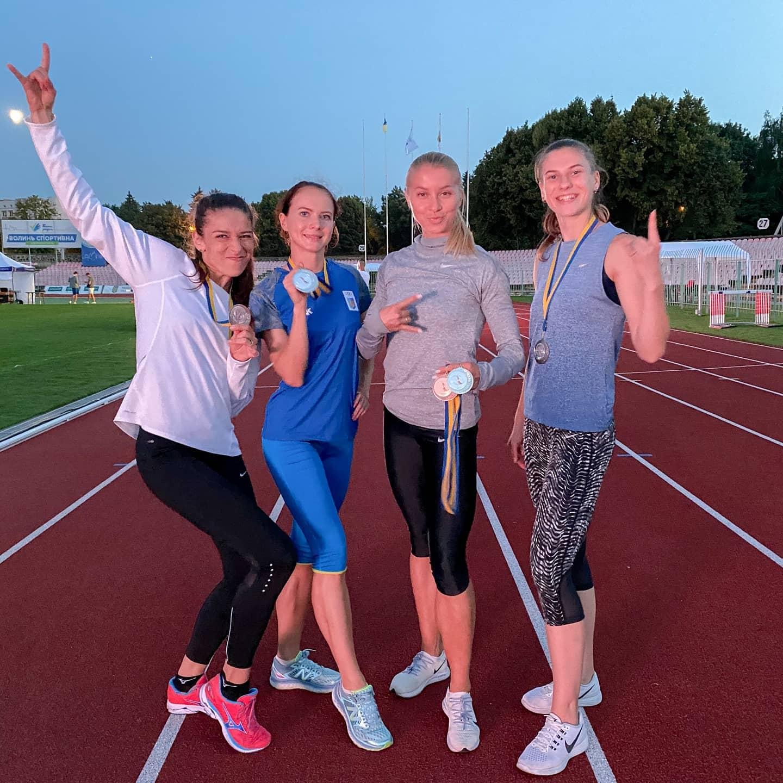 Естафетна команда встановила новий рекорд Вінницької області