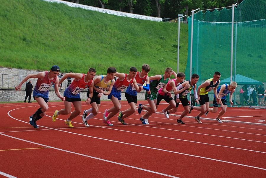 У місті Львів відбулися змагання з легкої атлетики
