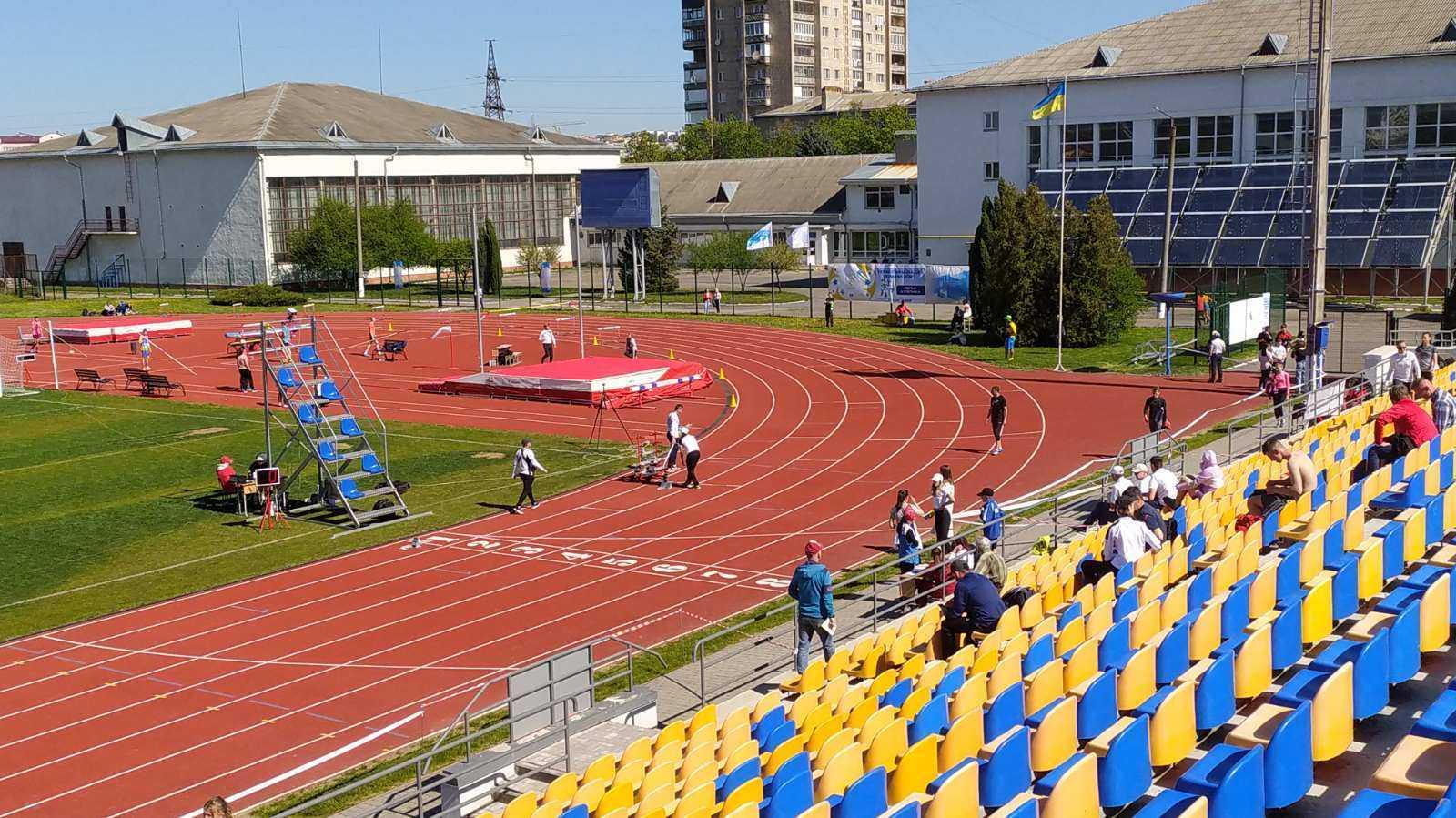 У Івано-Франківську відбулась III Гімназіада з легкої атлетики