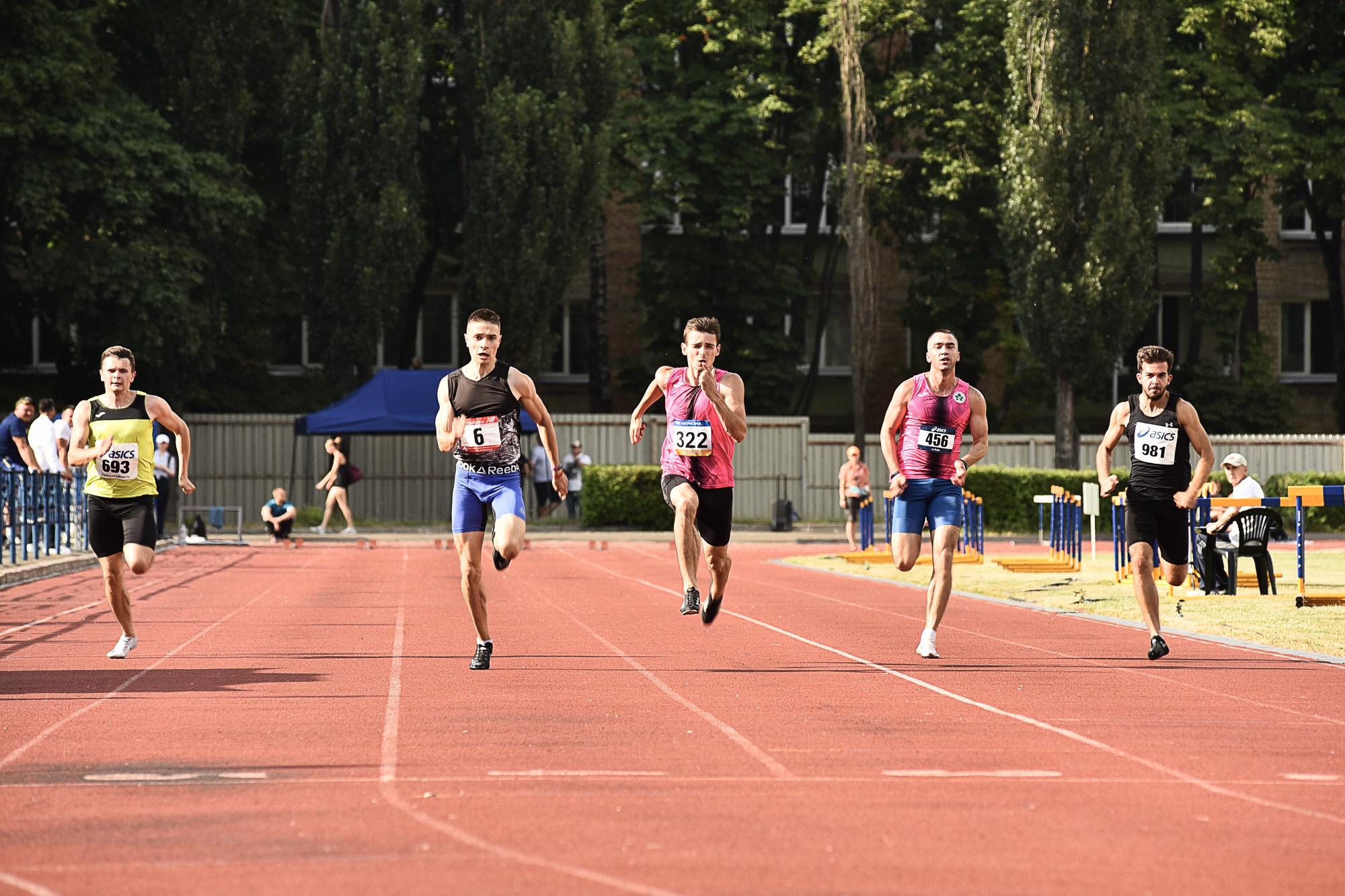 Вінничани змагались на Kyiv Athletics Festival