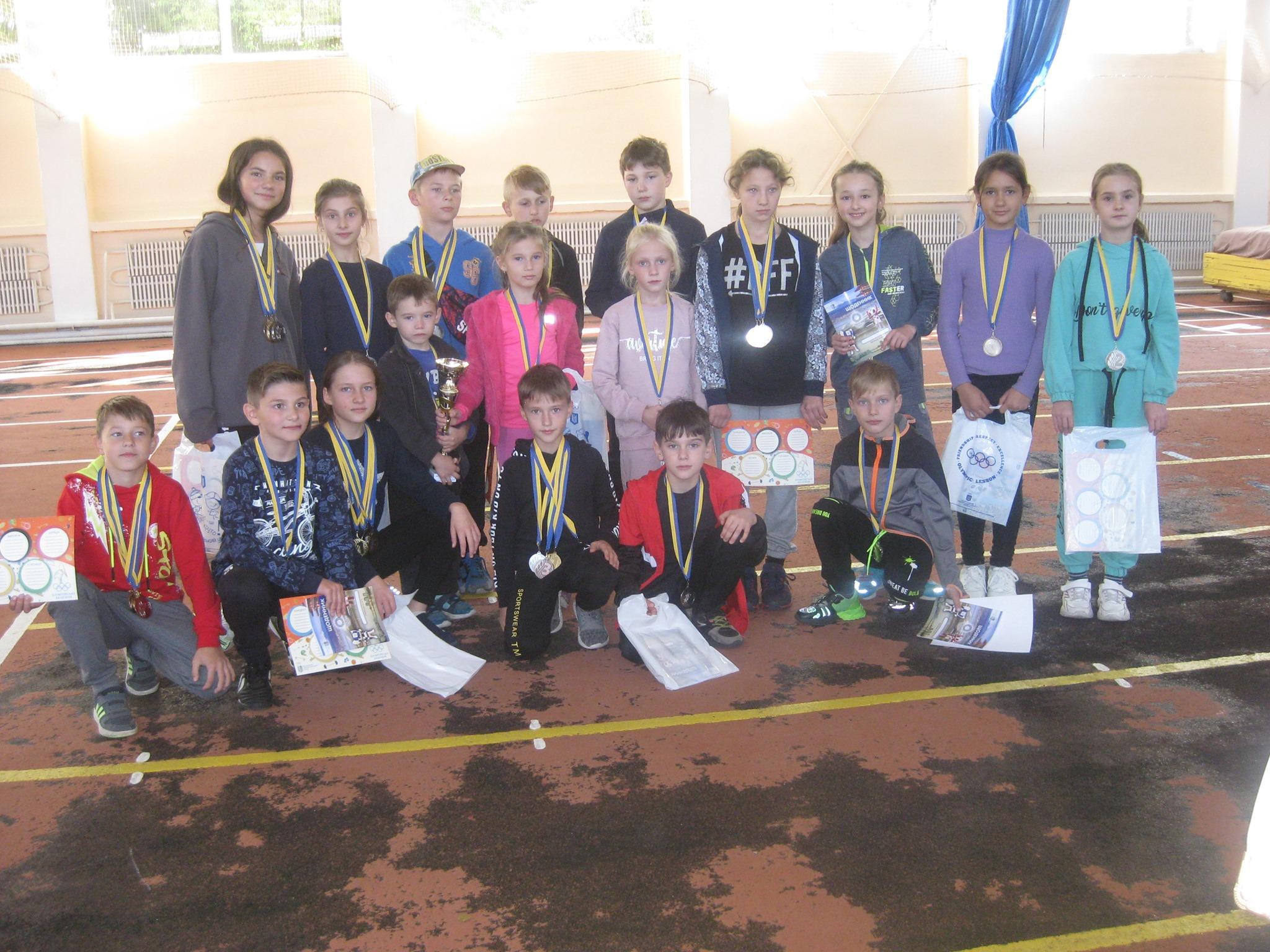 У Вінниці відбулись змагання за програмою Дитяча легка атлетика