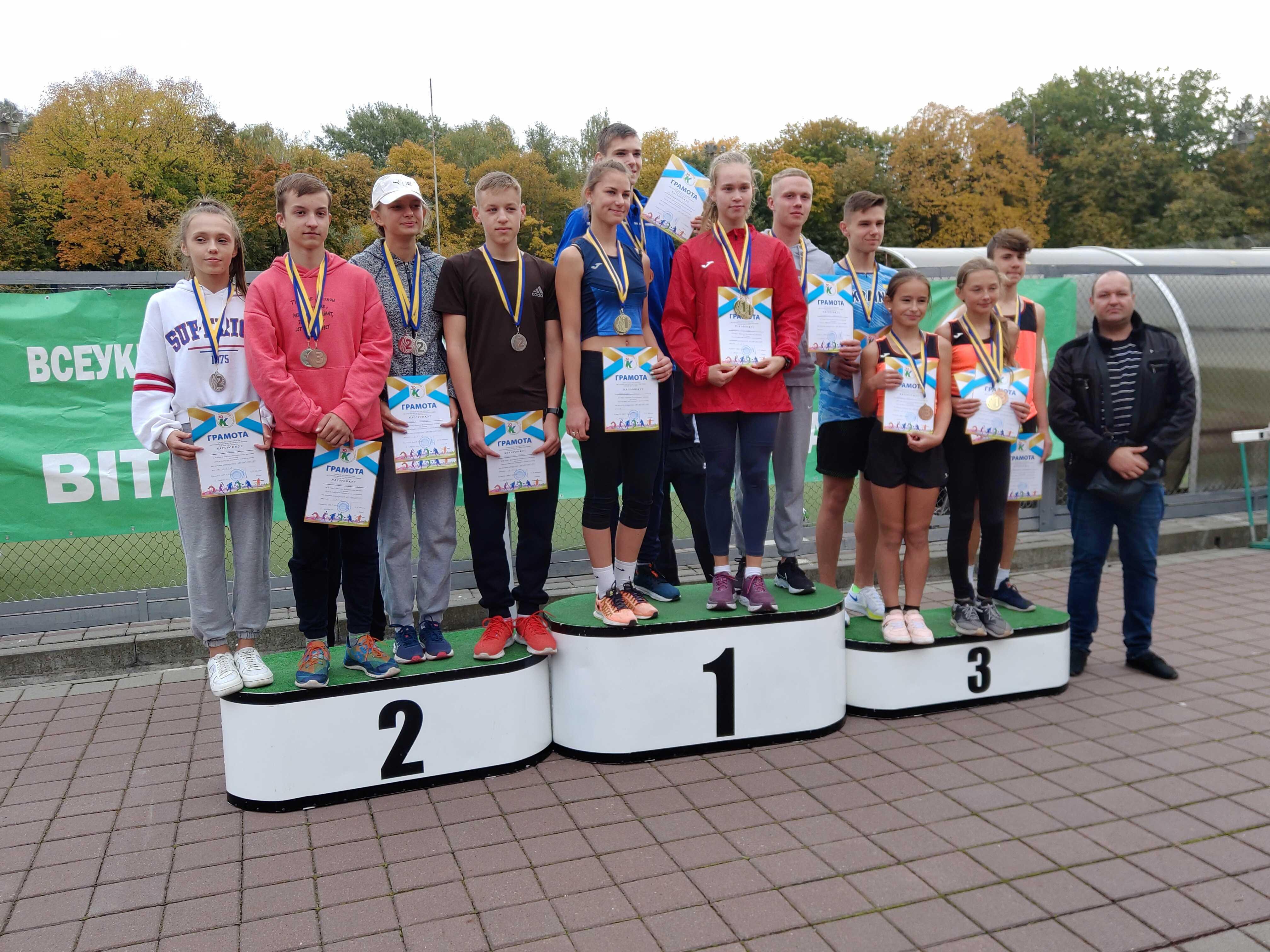 Всеукраїнські змагання Хто ти, майбутній олімпієць?